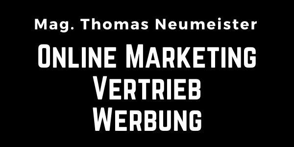 Angebot von Training - Schulung - Workshops - Umsetzung  für eCommerce | Online Marketing von Mag. Neumeister Thomas aus Graz Österreich