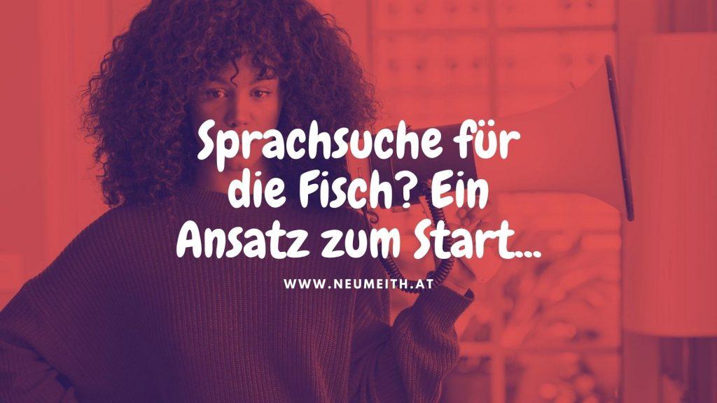 Sprachsuche - deine Webagentur für Sprachsuche aus Graz