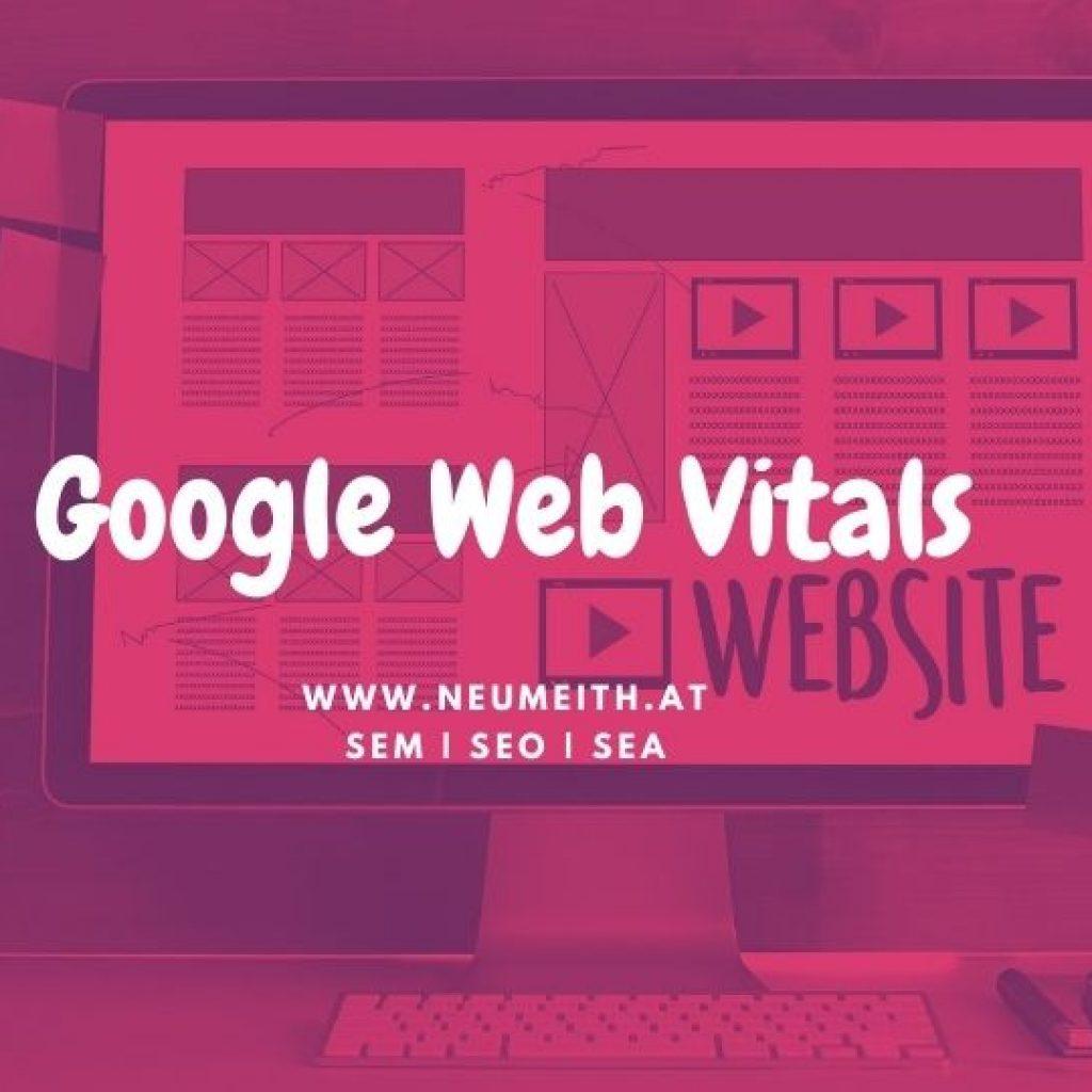 google web vitals fehler werbeagentur graz