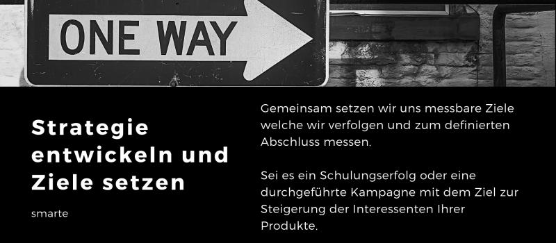 Online Marketing Strategie Workshop